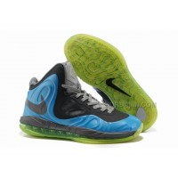 Nike Air Max Hyperposite Stoudemire Shoes Blue/Black/Green New