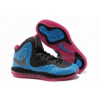 Nike Air Max Hyperposite Stoudemire Shoes Blue/Black/Pink New