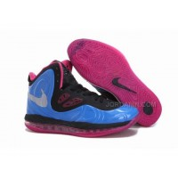 Nike Air Max Hyperposite Stoudemire Shoes Blue/Pink New