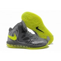 Nike Air Max Hyperposite Stoudemire Shoes Gray/Yellow New