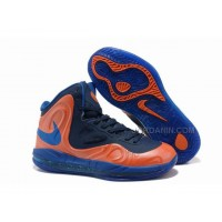 Nike Air Max Hyperposite Stoudemire Shoes Orange/Blue/Black New