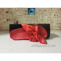 Puma X Fenty Bandana Slide ButterFly Red Women Sandals New Style