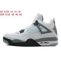 Nike Air Jordan 4 Big Size Shoes 203 Free Shipping