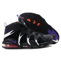 Charles Barkley Shoes - Nike Air Max CB34 Black/White/Purple For Sale