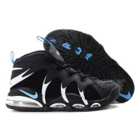 Charles Barkley Shoes - Nike Air Max CB34 Black/White/Blue For Sale
