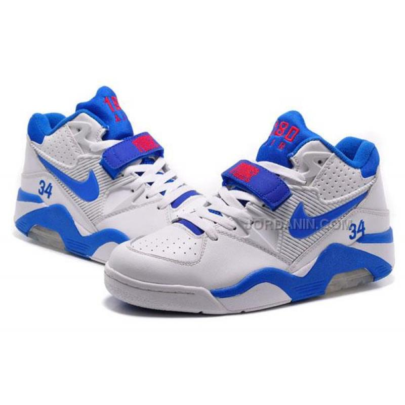 4bb79de5edcbbc ... Cheap Charles Barkley Shoes Nike Air Force 180 Low White Blue ...