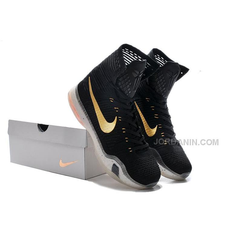"""official photos ff314 11b45 Cheap Nike Kobe 10 Sale Elite """"Rose Gold"""" High Tops Online, Price ..."""