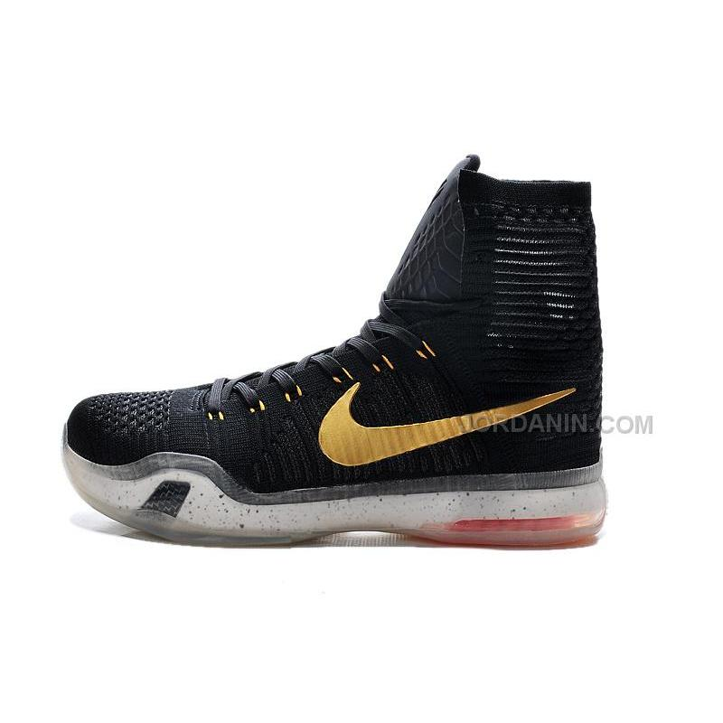 "aeeebd4949e ... Cheap Nike Kobe 10 Sale Elite ""Rose Gold"" High Tops Online"