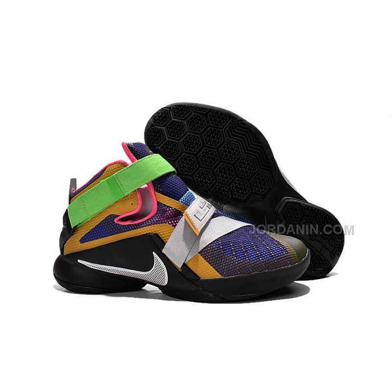 """7b5df56872e3c Nike LeBron Soldier 9 """"What The"""" Multicolor More Colorful For Sale ..."""