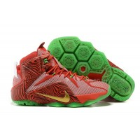"Cheap New Sprite LeBron 12 ""LeBrons Mix"" Red Green For Sale"