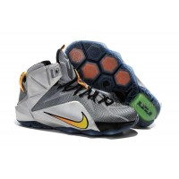 "Cheap Nike LeBron 12 ""Flight"" Wolf Grey/Bright Citrus-Black For Sale"