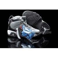 For Sale Nike Air Jordan 9 Kids White Cool Grey Shoes