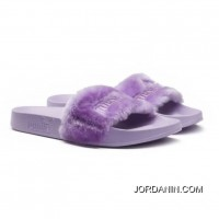 Fur Mens Slide Sandals Orchid Bloom-Puma Silver Top Deals
