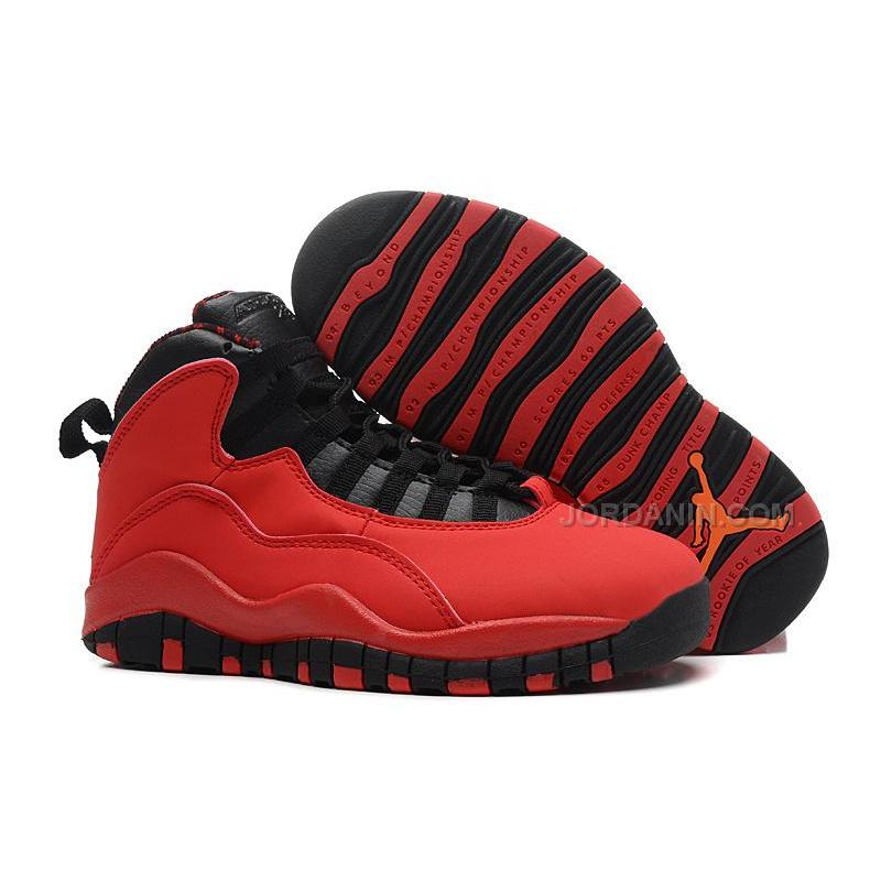 "Air Jordans 10 Retro ""Fusion Red"" For Sale Free Shipping b224caf48"