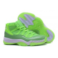 "2016 Air Jordan 11 GS ""Neon Green"" PE For Sale"