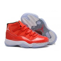 "Girls Air Jordan 11 Retro Carmelo Anthony ""Red"" PE For Sale"