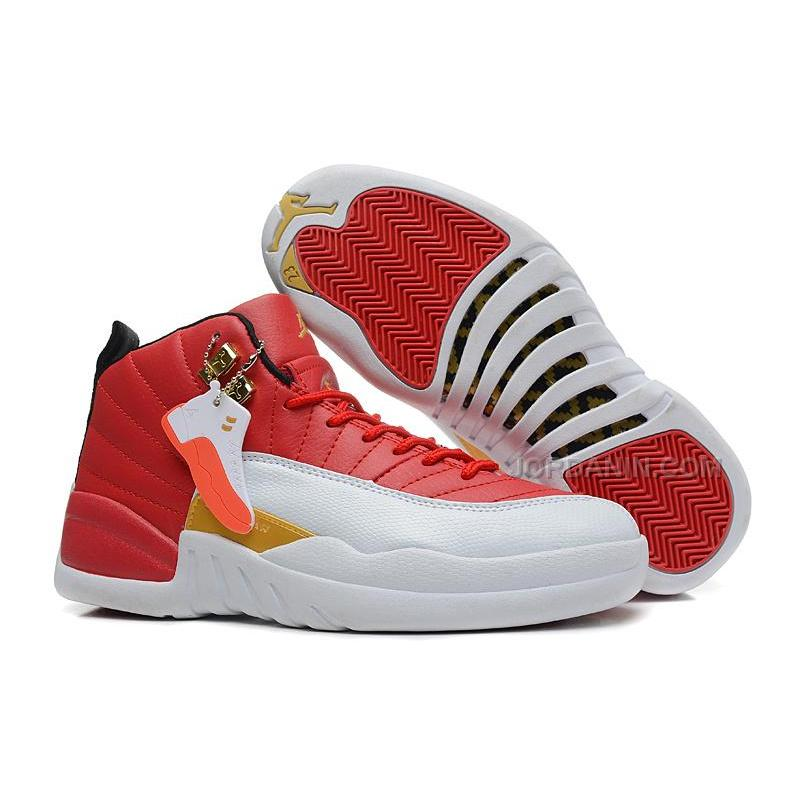 364cc77fd42 Girls Air Jordan 12 Cherry Red White For Sale Free Shipping, Price ...