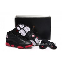 "Girls Air Jordan 13 ""Gym Red"" Black/Gym Red-Black Shoes For Sale"