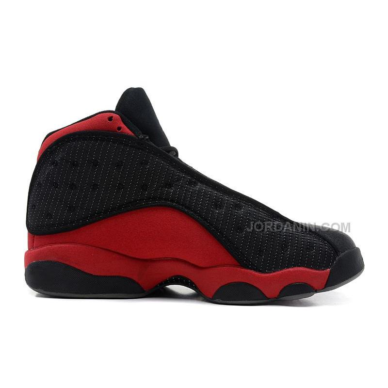 "info for ffb30 faa71 USD  84.00. Air Jordans 13 Retro ""Bred"" Black Varsity Red-White For Sale ..."