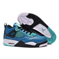 "Air Jordans 4 Retro ""Teaser"" Teal/Black-White For Sale New"