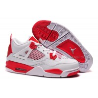 "Air Jordans 4 Retro ""Melo"" PE White Red For Sale New"