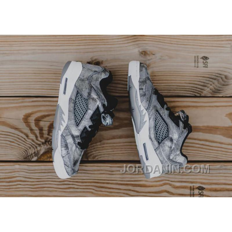"on sale 6ed06 5f4be ... 2016 Girls Air Jordan 5 Low GS ""All-Star"" Cool Grey Wolf ..."