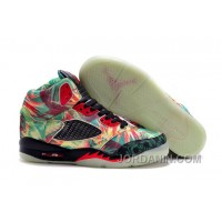 Girls Air Jordan 5 Maple Leaf Champion Shoes For Sale