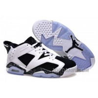 "Girls Air Jordan 6 Low ""Oreo"" Shoes For Sale Online"