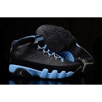"New Girls Air Jordan 9 ""Slim Jenkins"" Black Blue For Sale"