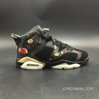 Copuon Code Women Shoes Son Generation Air Jordan 6 Cny In 3 M China Box Sku Aa2492-021 Number 4-7 Y All Yards