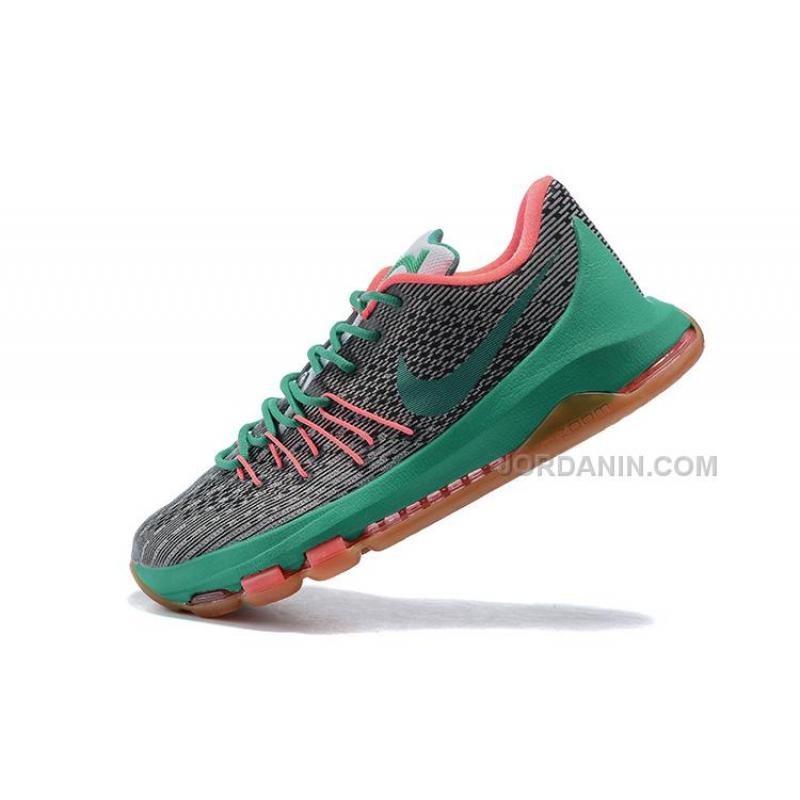 check out 8fd01 d60fe USD  76.00. KD 8s Shoes Kevin Durant Shoes Grey Green ...