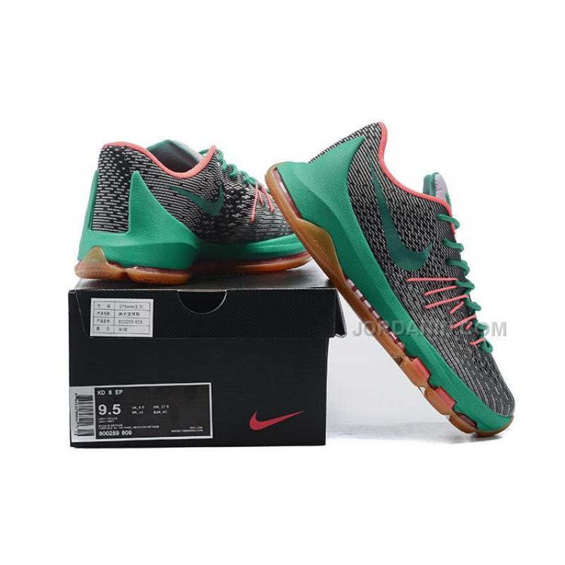 wholesale dealer c51ba 86c91 ... KD 8s Shoes Kevin Durant Shoes Grey Green Mens Basketball Sneakers New  Arrival ...