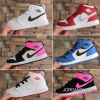Air Jordan 1 Jordan One AJ1 Kids Shoes 2017 Winter Cheap To Buy