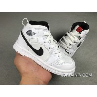 Nike Air Jordan Retro 1 White Black New Style