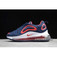 For Sale Nike Air Max 720 Navy Blue/Red-White Kids' Sizing AO2924-461 SKU:151765-107