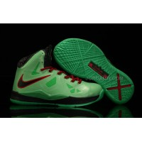 Nike Lebron 10 Kids Shoes China Limited Edition Green Online