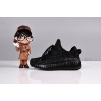 Kid Shoes Yeezy 350 Sneakers Pirate Black Free Shipping