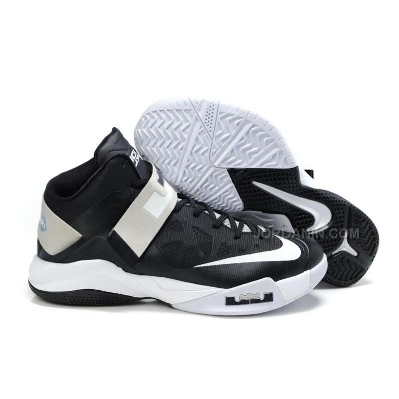 new arrival df5f9 f108a Nike Zoom Zoom LeBron Soldier 6(VI) Black/White Cheap