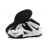 Nike Zoom Lebron Soldier 7 White/Black For Sale