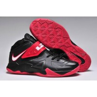 Nike Zoom Lebron Soldier 7 Black/Red For Sale