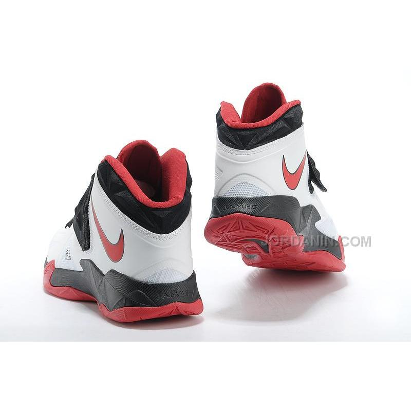 e1fd7c211dd6 ... Nike Zoom Lebron Soldier 7 White Black Red For Sale