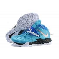 Nike Zoom Lebron Soldier 7 Blue/White For Sale