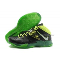 Nike Zoom Lebron Soldier 7 Black/Green For Sale