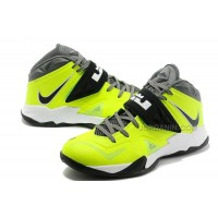 Nike Zoom Lebron Soldier 7 Green/Black/White For Sale