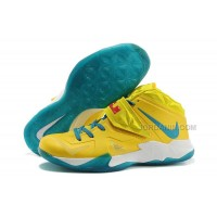 Nike Zoom LeBron Soldier 7 Yellow/Jade/White For Sale