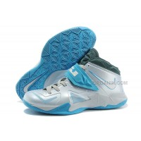 Nike Zoom LeBron Soldier 7 Blue/Grey/White For Sale