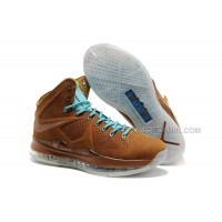 Nike LeBron X EXT Cork QS Brown For Sale