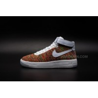 Men Nike Air Force 1 Flyknit Basketball Shoe High AAA 210