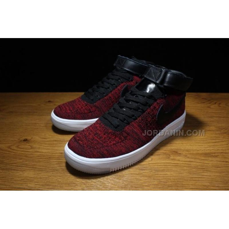 1f7df83f54a4 ... Men Nike Air Force 1 Flyknit Basketball Shoe High AAA 208 New Arrival  ...