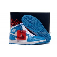 Air Jordans 1 Retro High White/University Blue Shoes For Sale Hot